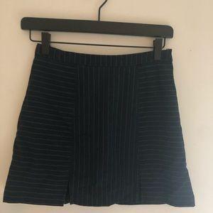 UO Pinstripe skit Mini Skirt